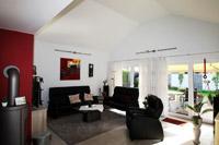 bungalow duisburg moers offener wohnbereich ohne decke nach oben bungalow wohnzimmer decke offen - Wohnzimmer Oben Offen