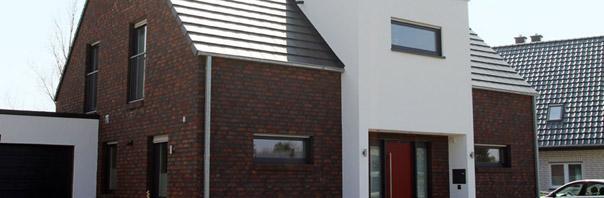 Haustyp Herne Westfalen, modernes Einfamilienhaus, modernes ...