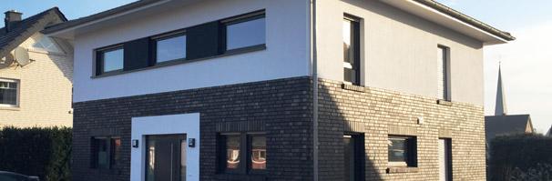 moderne stadtvilla bauen in marl nrw massivhaus modernes einfamilienhaus modernes. Black Bedroom Furniture Sets. Home Design Ideas