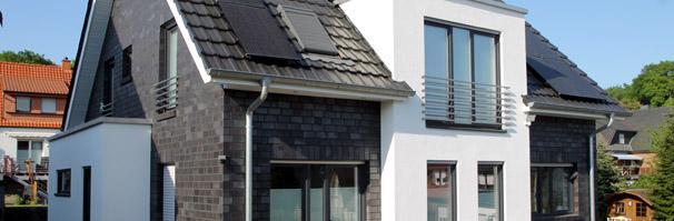 Haustyp Essen, modernes Einfamilienhaus, modernes Massivhaus ...