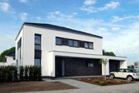 Stadtvilla modern innen  Referenzen Stadtvillen / Stadthäuser Einfamilienhäuser ...