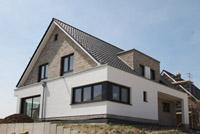 Haustyp herten modernes einfamilienhaus mit satteldach for Modernes haus nrw