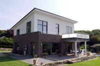 Massivhaus Bauen Nrw Modernes Einfamilienhaus Mit Satteldach