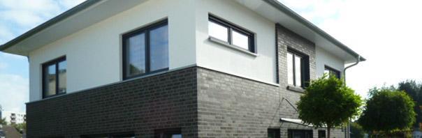 Moderne stadtvilla d sseldorf erkrath modernes - Zwo architekten ...