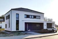 Moderne stadtvilla mittelrhein niederrhein modernes for Haus bauen stadtvilla