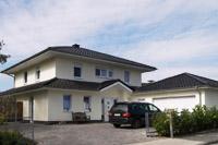 Stadtvilla mit integrierter garage  Stadtvilla Kamp-Lintfort, Massivhaus Einfamilienhaus mit 2 ...