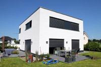 ... Stadtvilla Haustyp Waltrop   Bauhausstil, Bauhaus Architektur,  Flachdach, Modernes Massivhaus   Modernes Architektenhaus ...